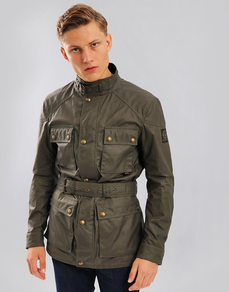 Belstaff Roadmaster Jacket Green Smoke