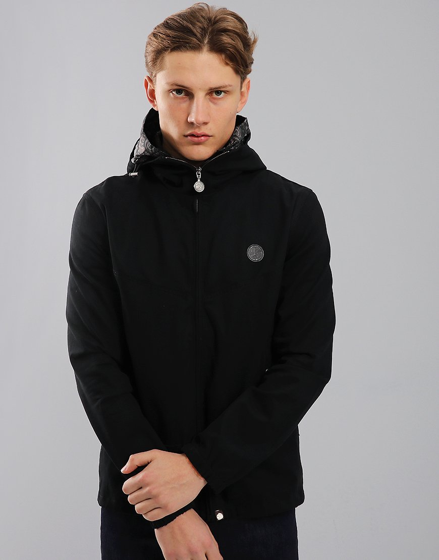 Pretty Green Beckford Hooded Jacket Black
