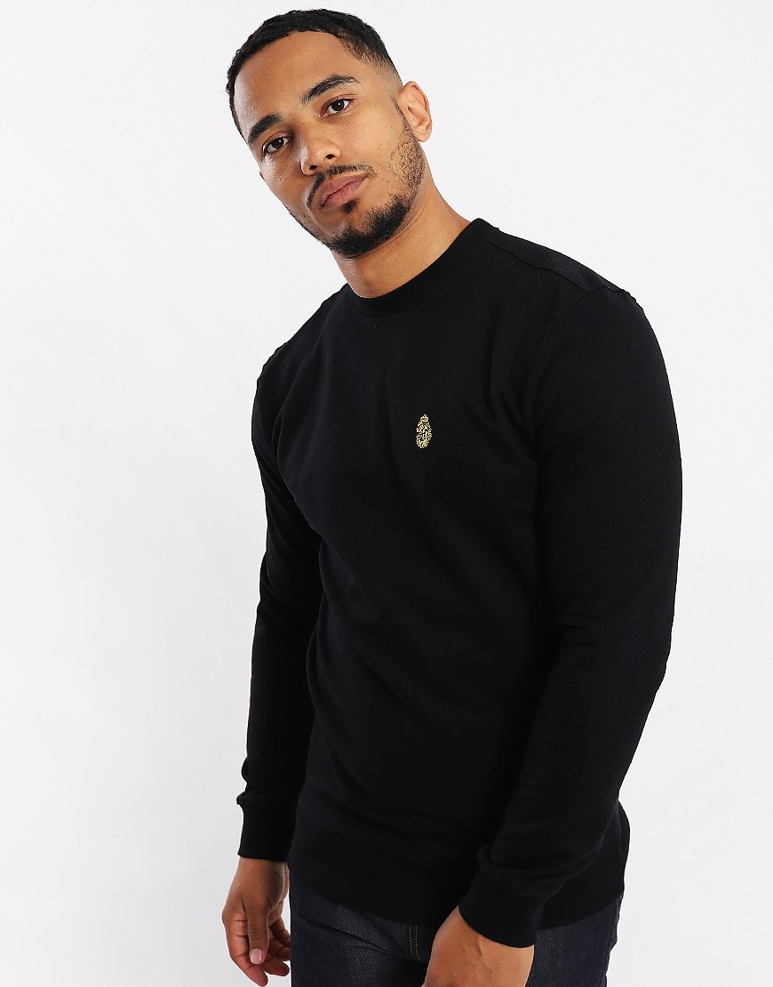 Luke 1977 The Runner Crew Sweat Black