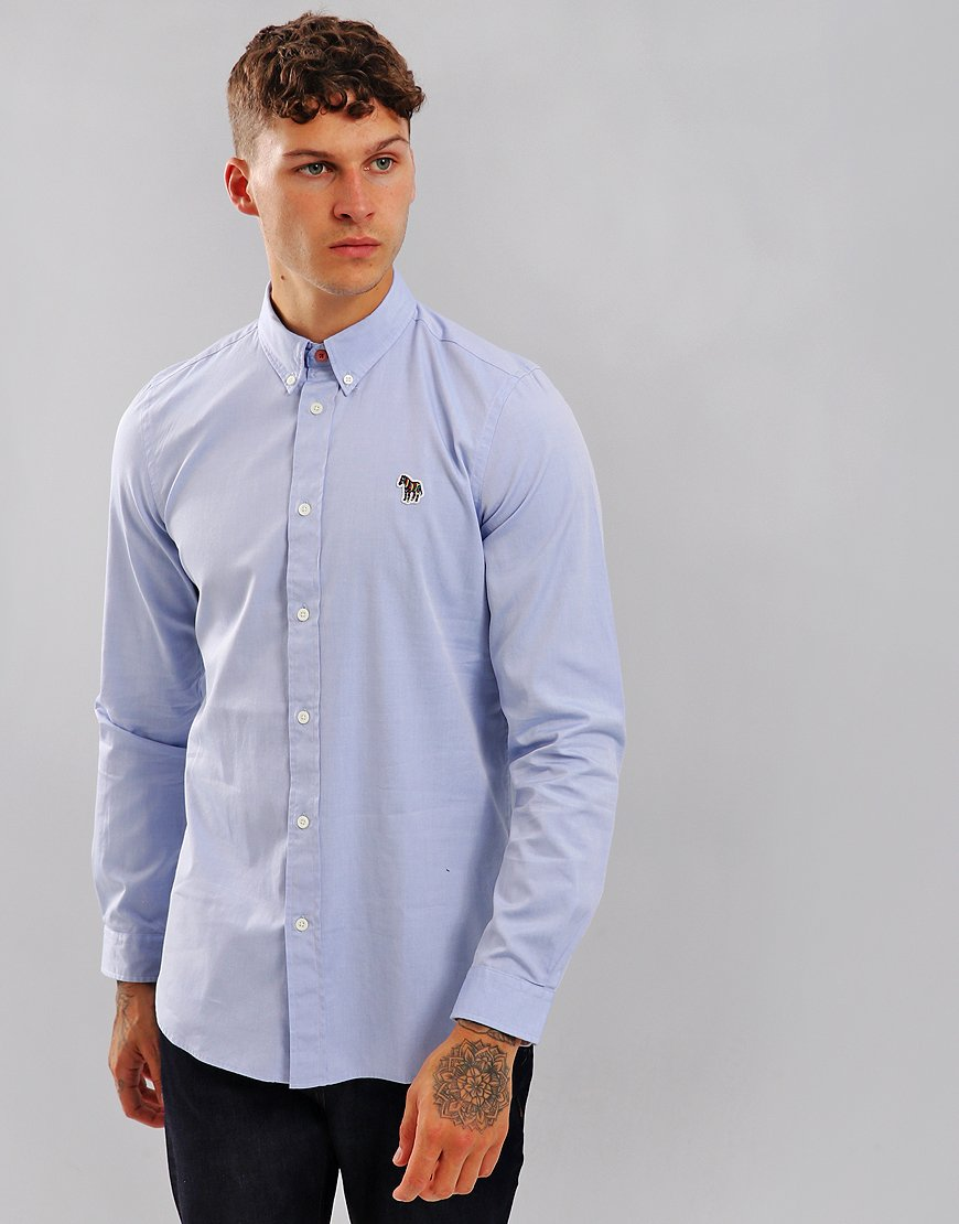 Paul Smith Tailored-Fit Shirt Pastel Blue