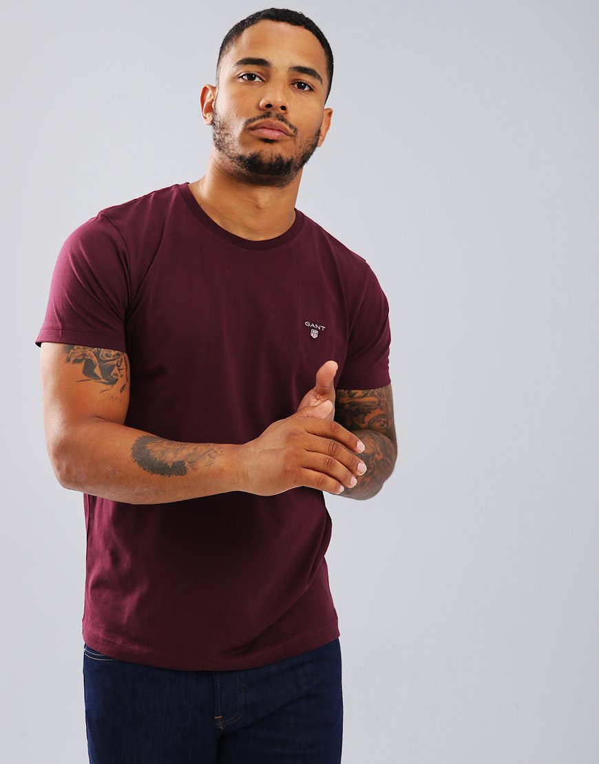 Gant Solid T-Shirt Fig