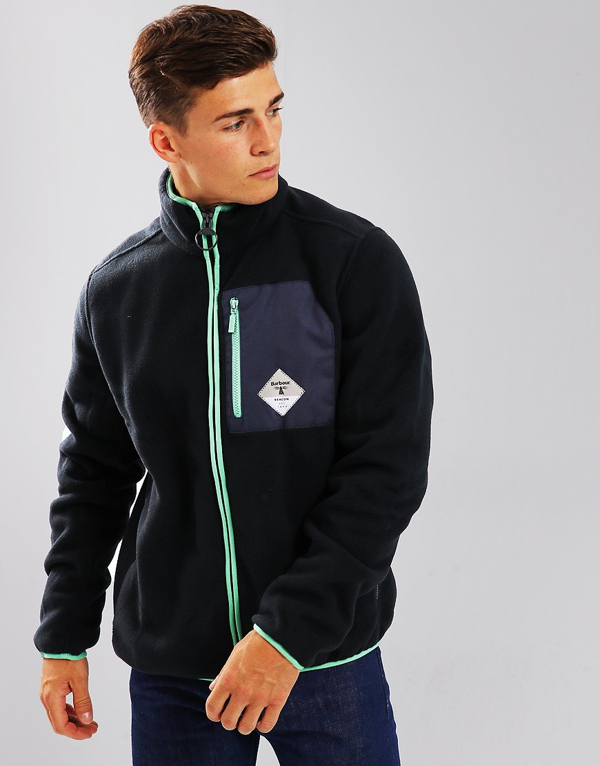Barbour Beacon Egremont Fleece Navy