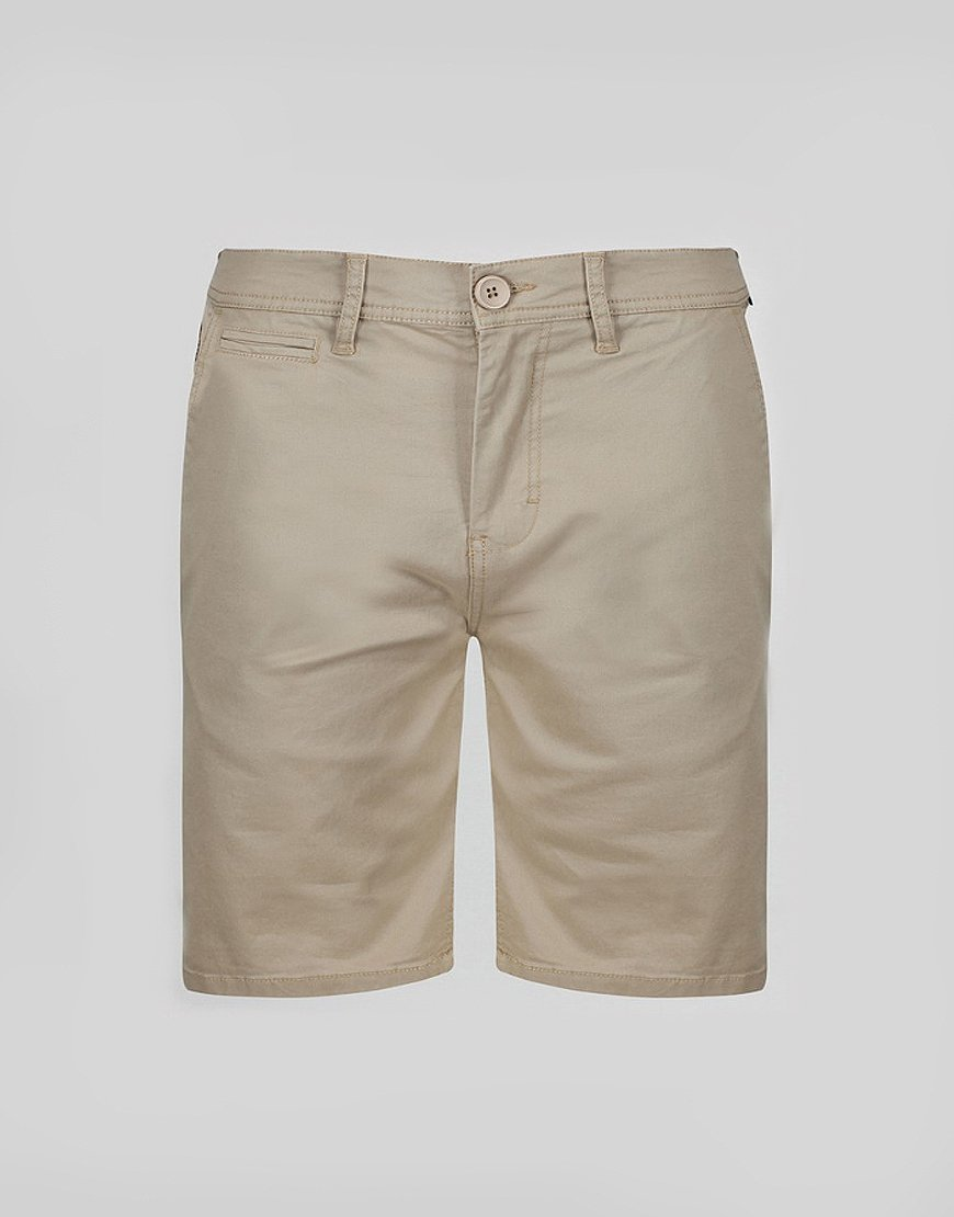 Luke 1977 Corbite Chino Shorts Stone