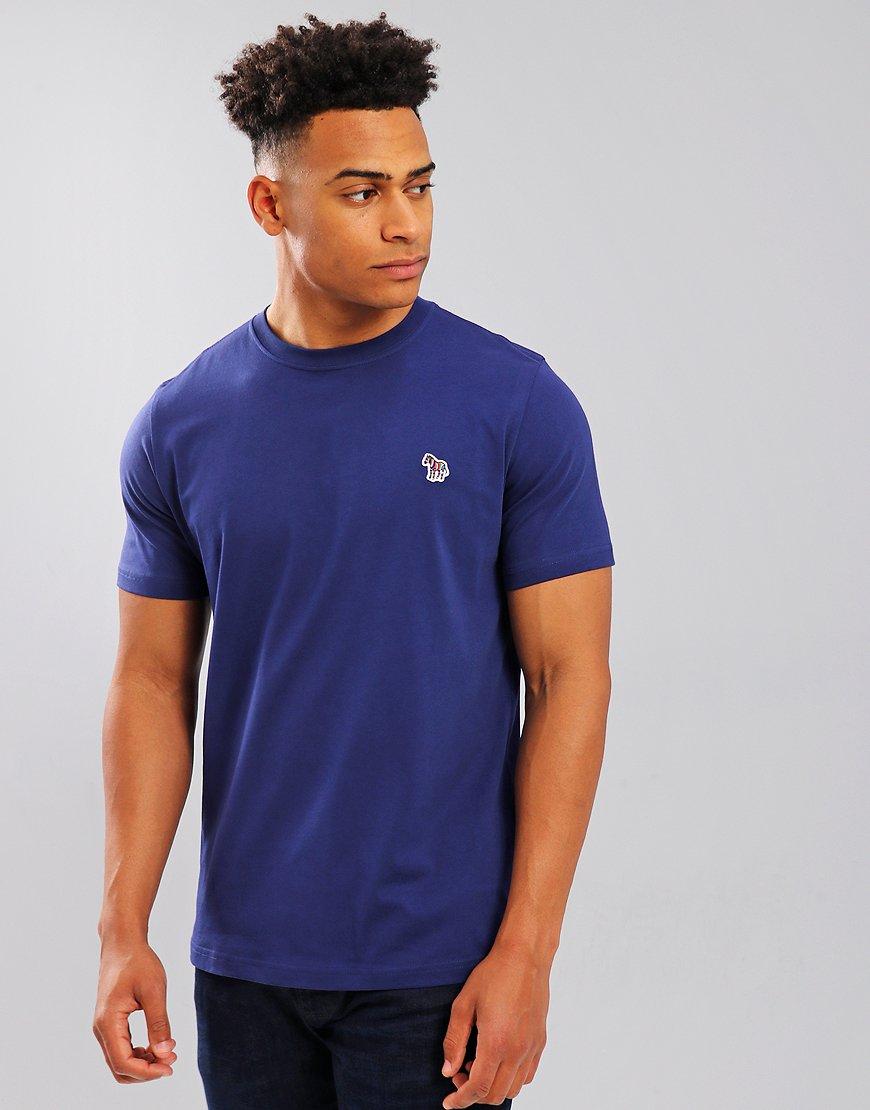 Paul Smith Zebra Logo T-Shirt Cobalt