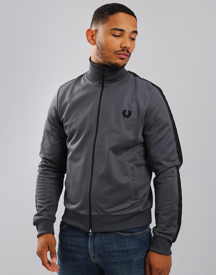 Fred Perry Laurel Wreath Tape Track Jacket Lead