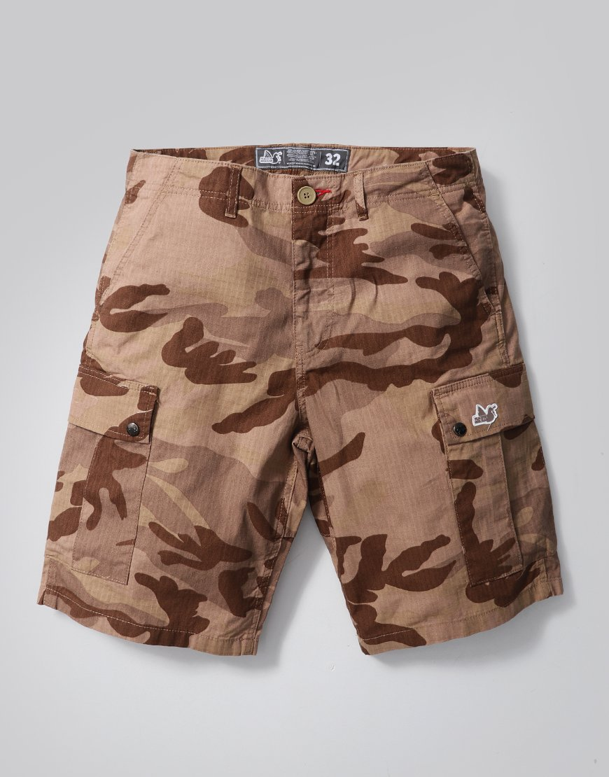 Peaceful Hooligan Container Shorts Desert Camo