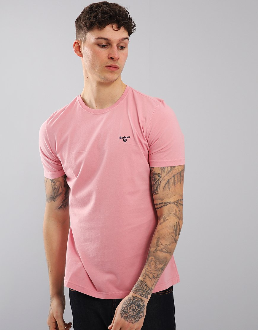 Barbour Sports T-Shirt Dusty Pink