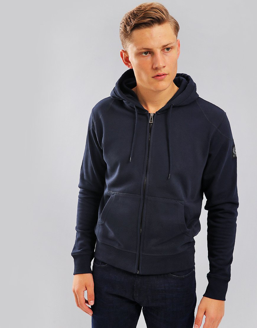 Belstaff Wentworth Hooded Sweat Navy