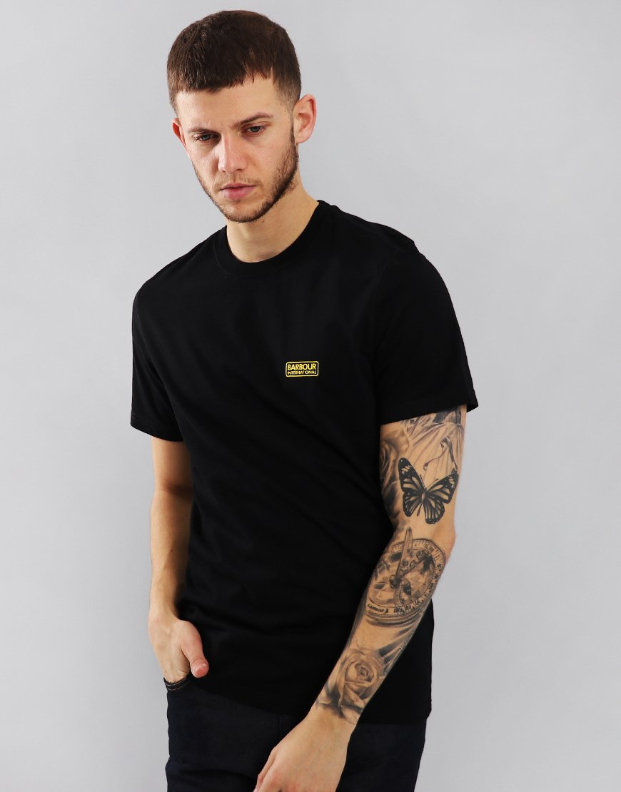 Barbour International Small Logo T-Shirt  Black
