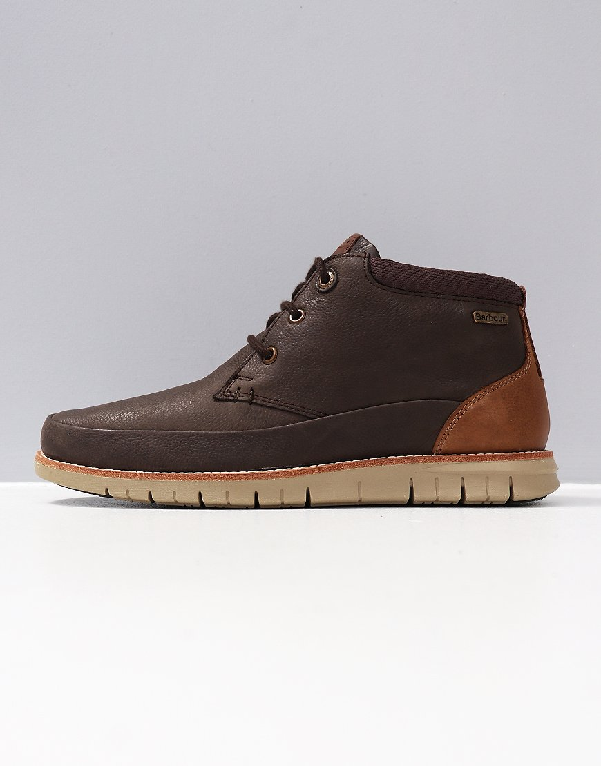 Barbour Nelson Boot Brown