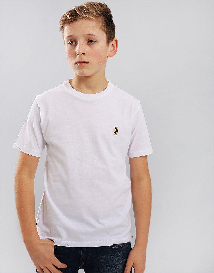 Luke 1977 Junior Hotdog T-Shirt White
