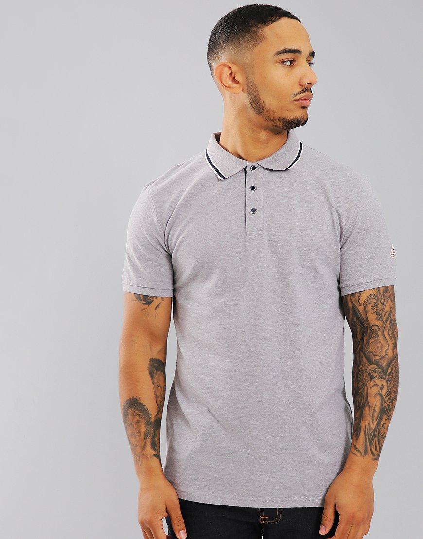 Pyrenex Lionel Polo Shirt Med Grey