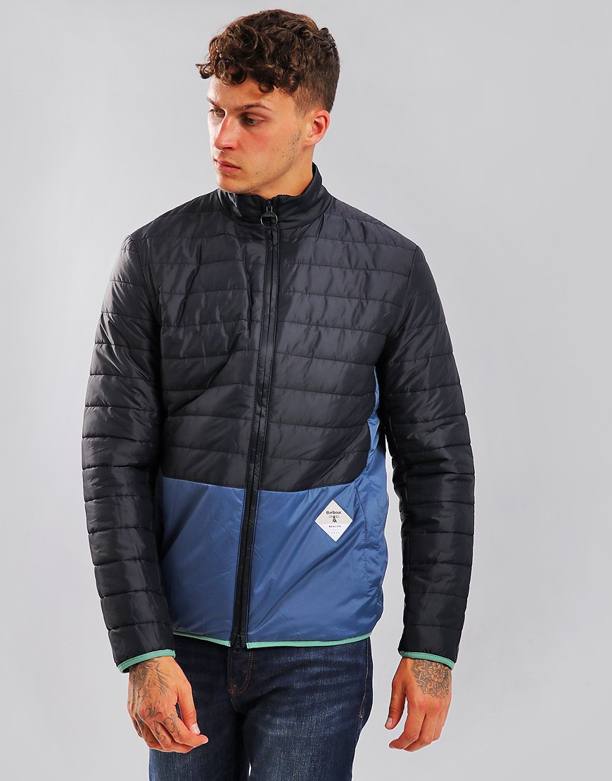 Barbour Beacon Glenridding Quilt Navy
