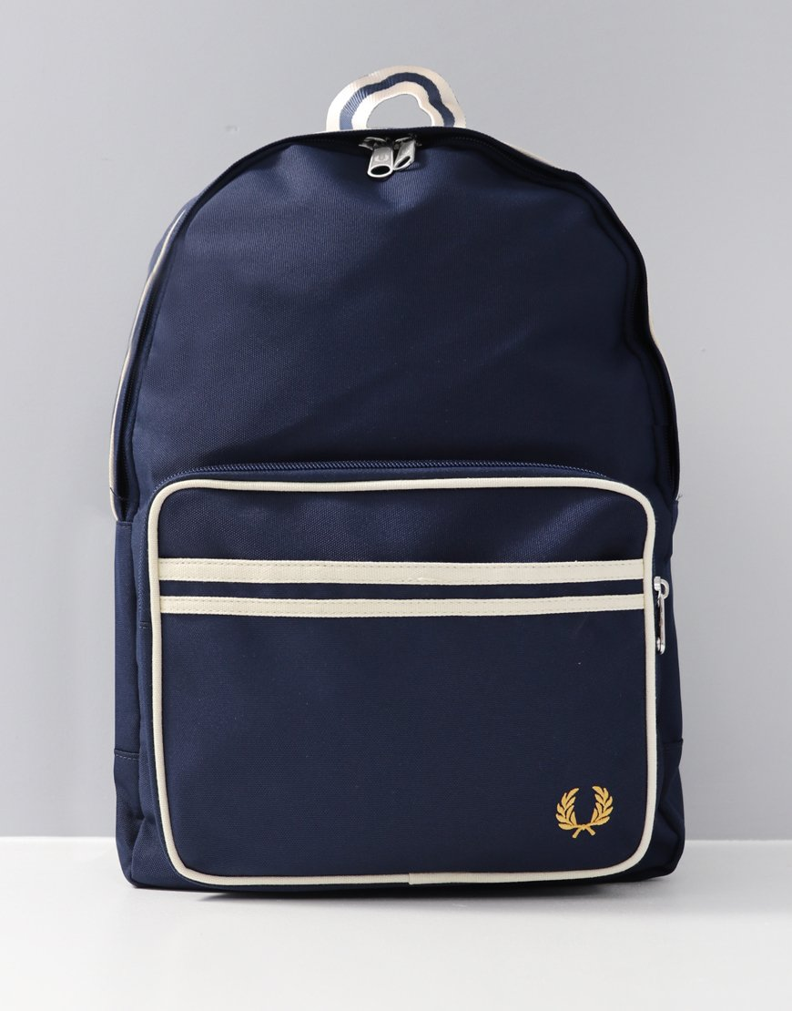 Fred Perry Twin Tipped Rucksack Navy