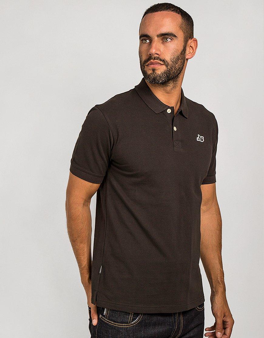 Peaceful Hooligan Classic Polo Shirt Black