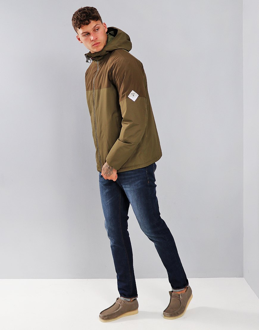 Barbour Beacon Troutbeck Jacket Army Green