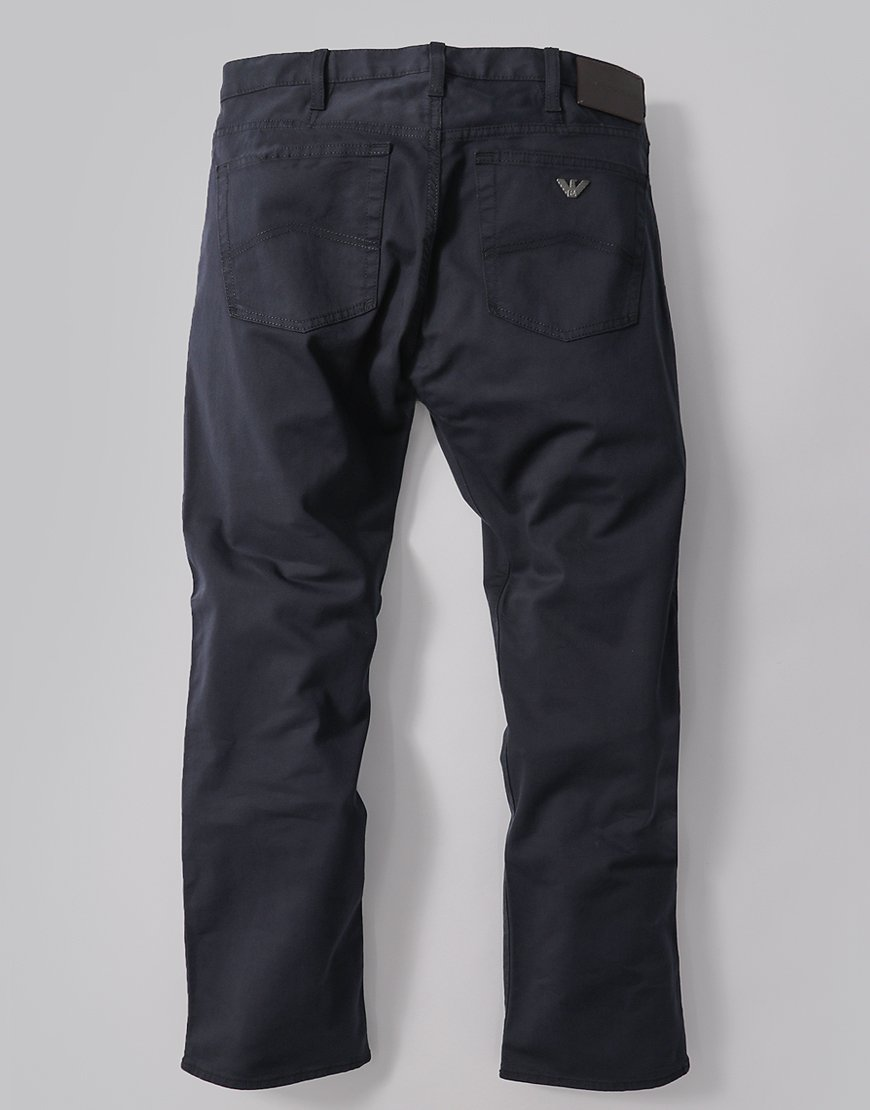 Emporio Armani J21 Regular Fit Trousers 1N0LZ Navy