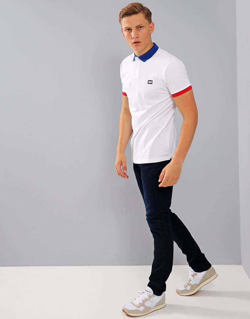 Weekend Offender Gibson Polo Shirt White