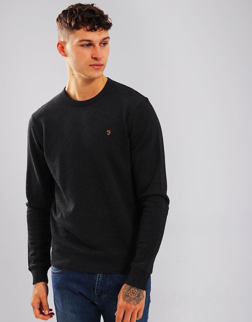 Farah Tim Crew Sweat Black
