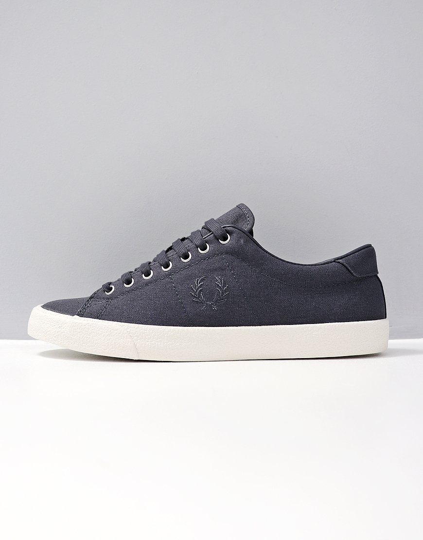 Fred Perry Underspin Canvas/Crepe Graphite