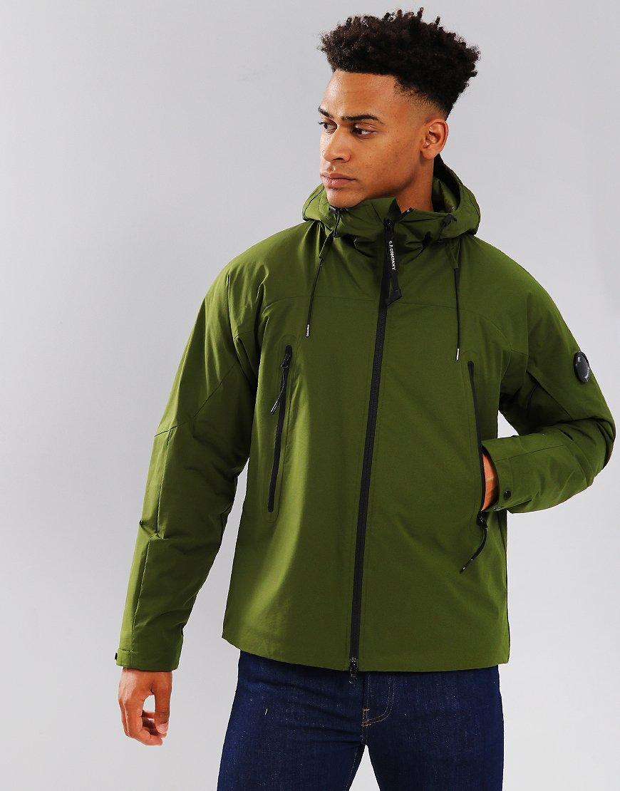 C.P. Company Pro-Tek Drawstring Hood Jacket Pesto