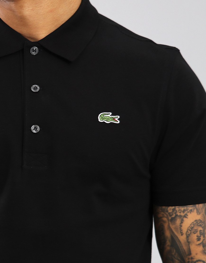 42e1dbc609f68a Lacoste Sport Polo Shirt Black - Terraces Menswear