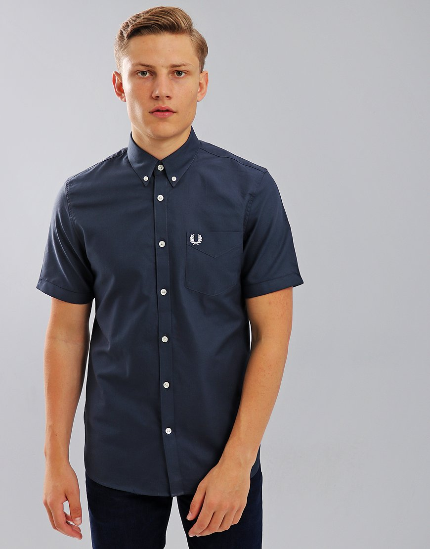 Fred Perry Classic Oxford Shirt Dark Airforce