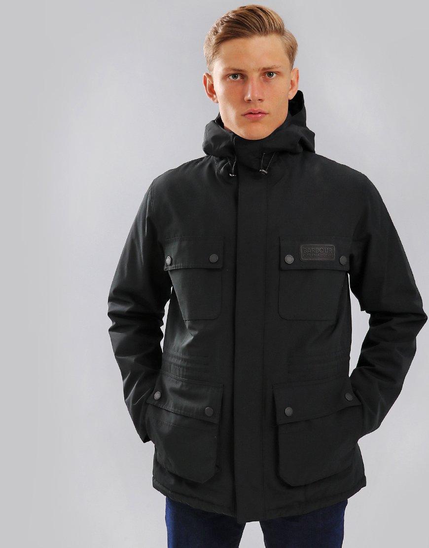 Barbour International Endo Waterproof Jacket Black