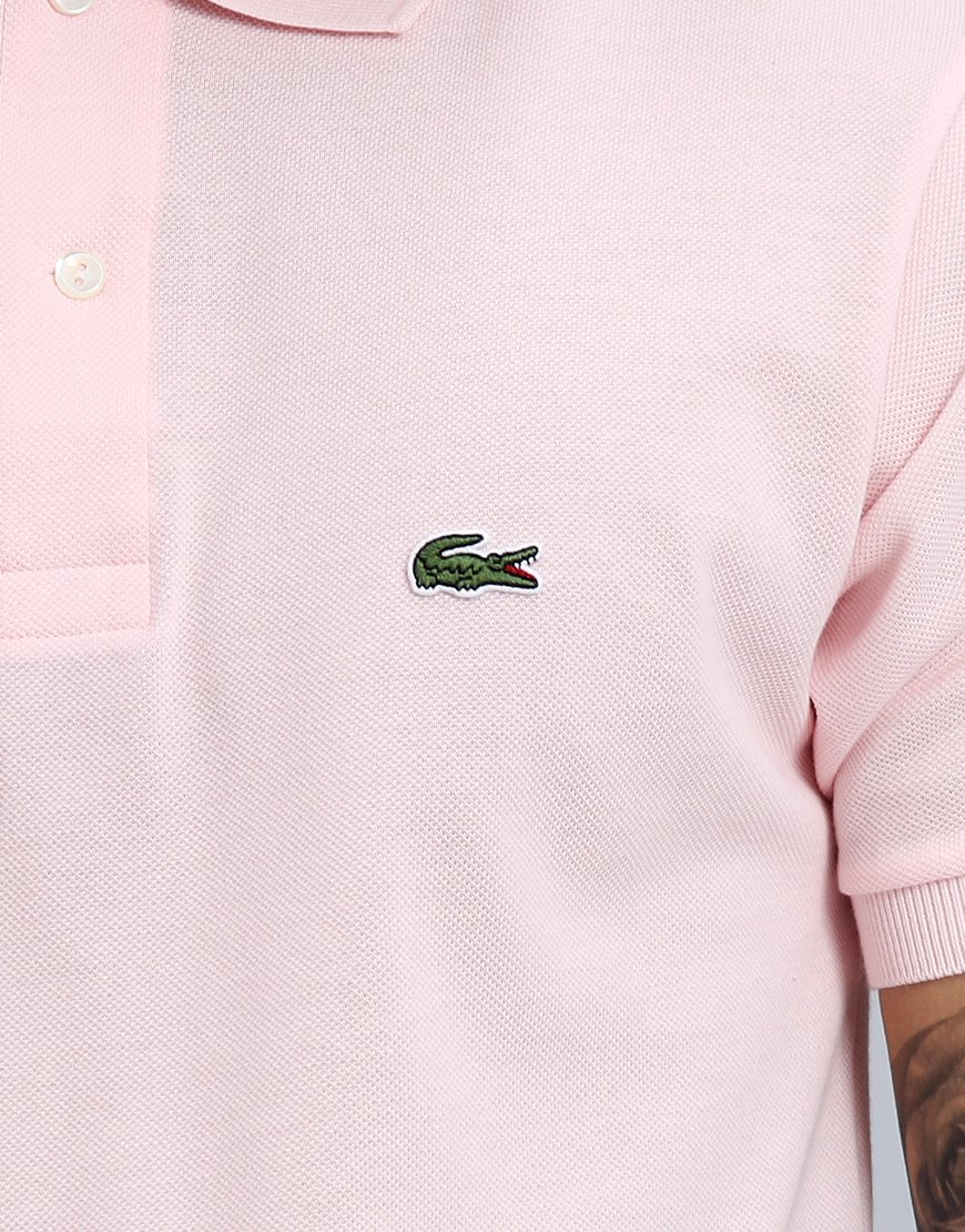 df7dd7dd Lacoste L.12.12 Best Polo Shirt Flamingo - Terraces Menswear