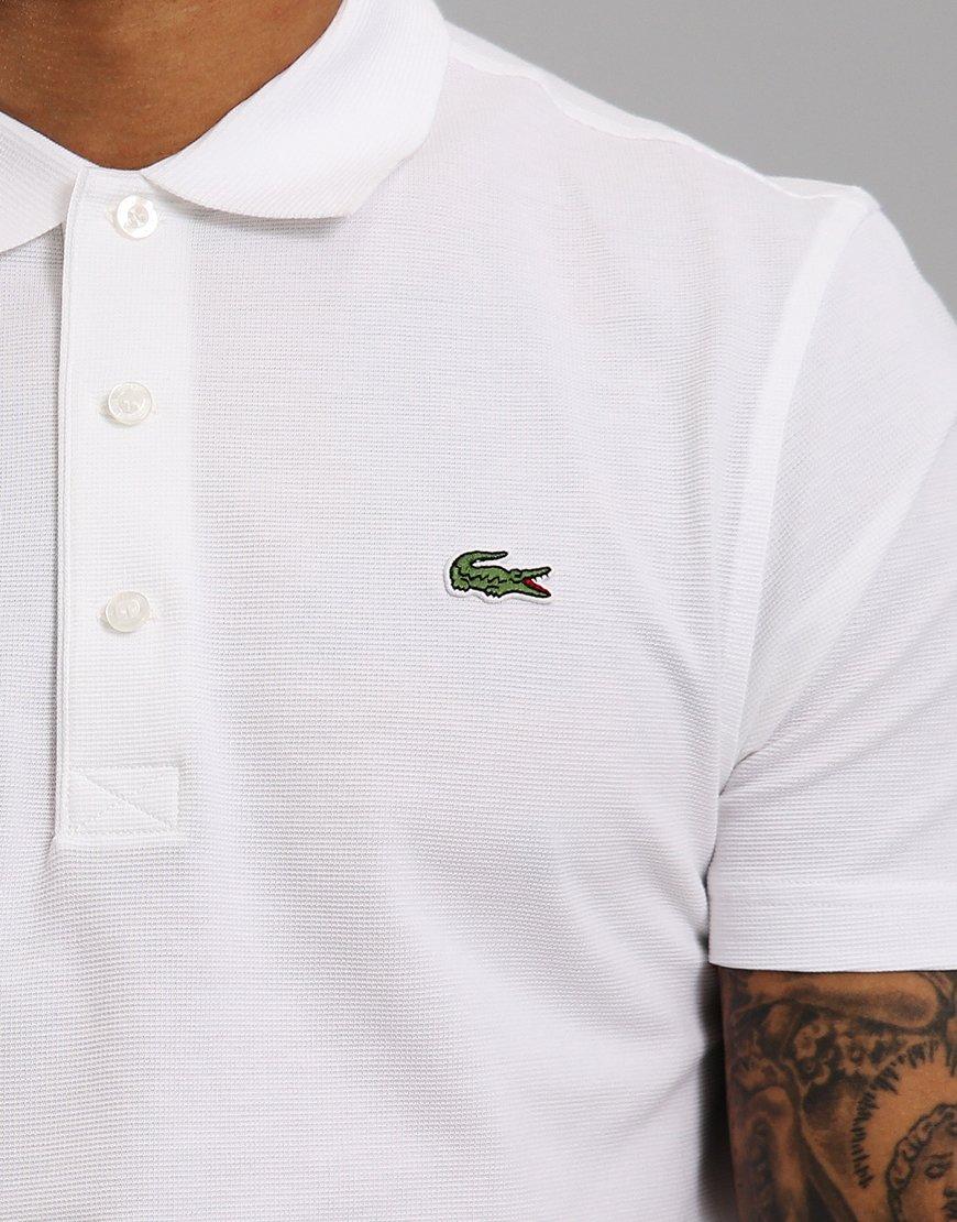 4b13bf4de8 Sport Polo Menswear Shirt Lacoste White Terraces EDIYeWH92b