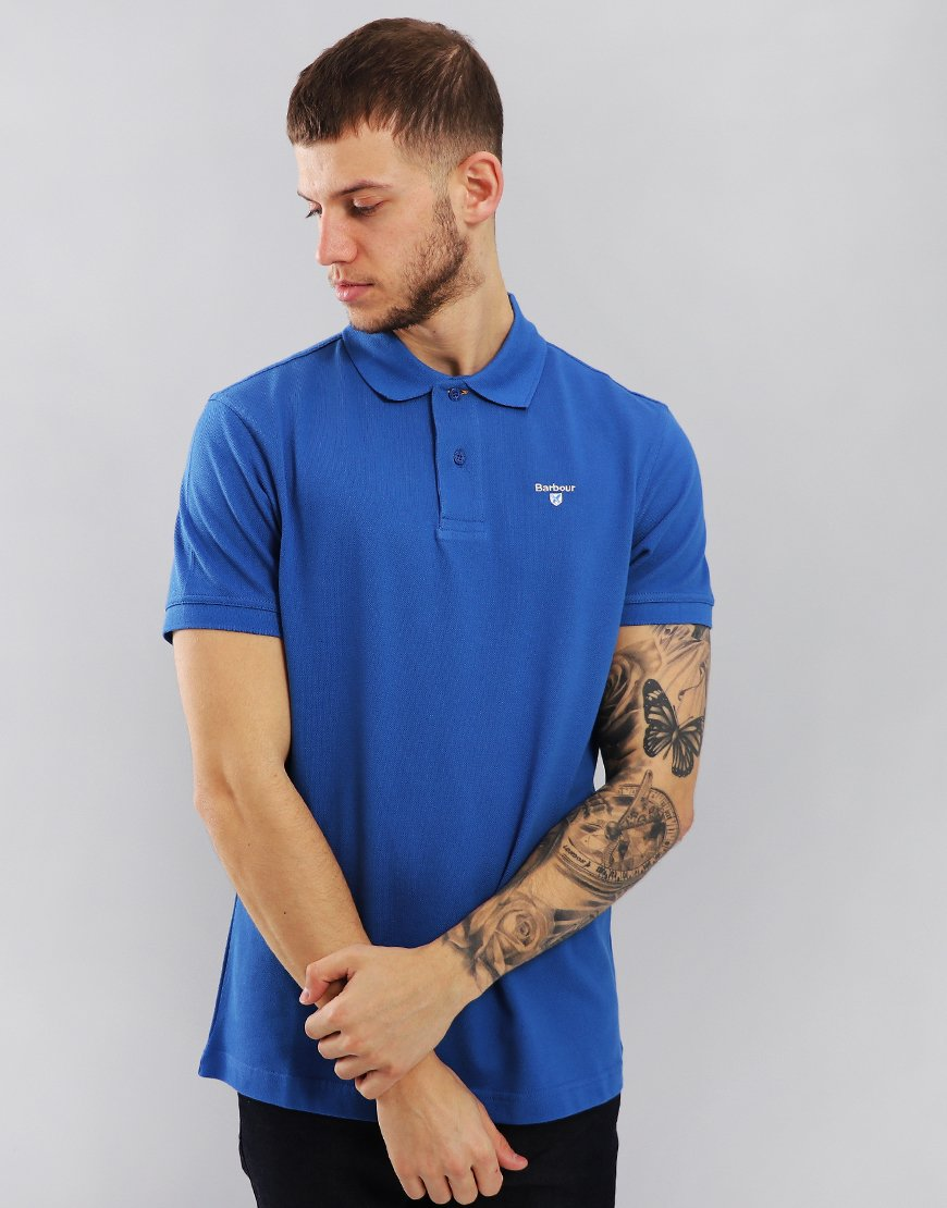 Barbour Sports Polo Shirt Atlantic