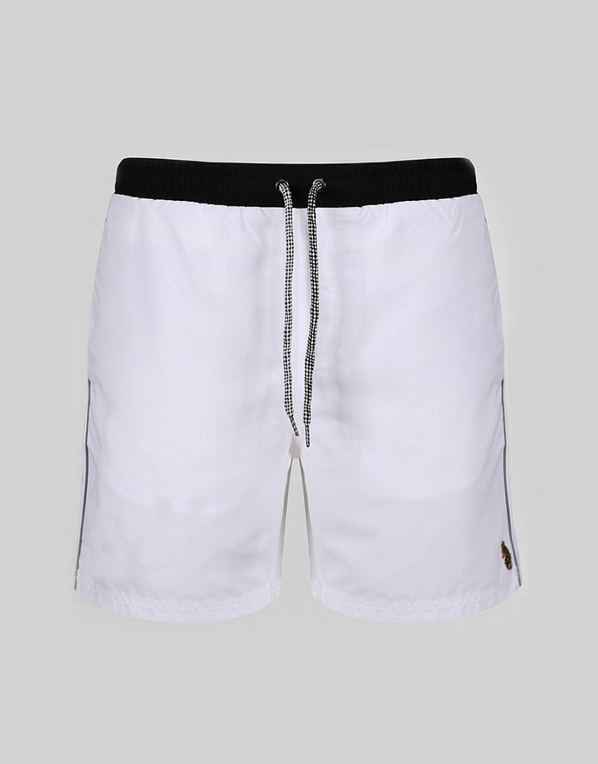 Luke 1977 The Boxer Swim Shorts White