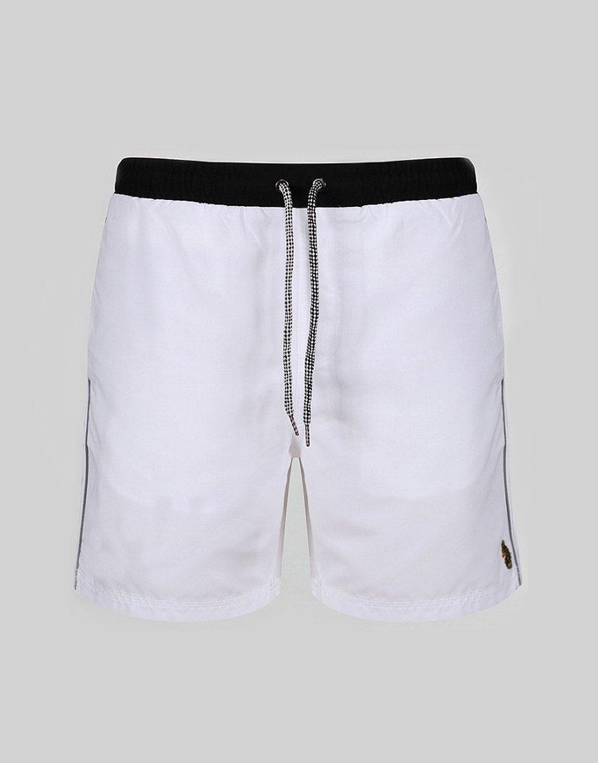 Luke 1977 The Boxer Swim Shorts White