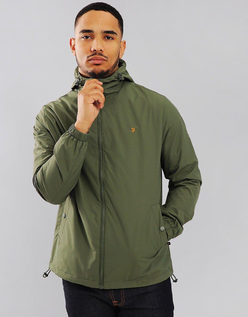 Farah Smith Jacket Military Green