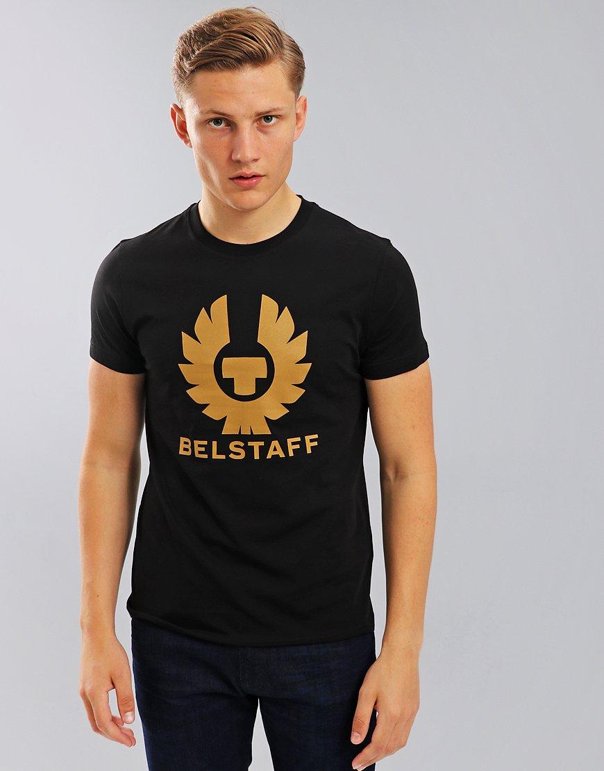Belstaff Cranstone Phoenix Logo T-Shirt Black