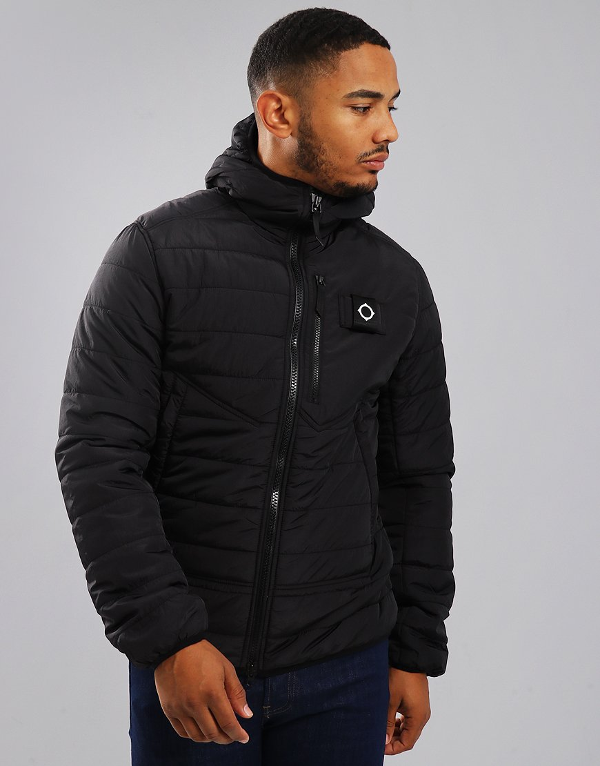 MA.Strum Pegasus Quilted Jacket Jet Black