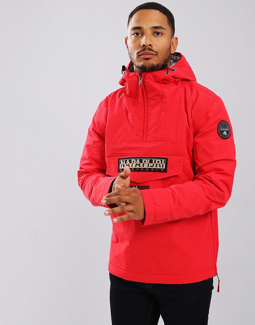 Napapijri Rainforest Winter Jacket Pop Red