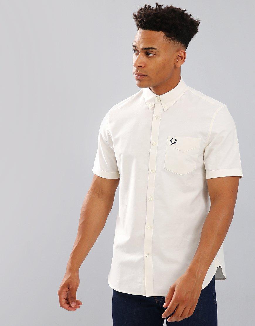 Fred Perry Classic Oxford Shirt Ecru