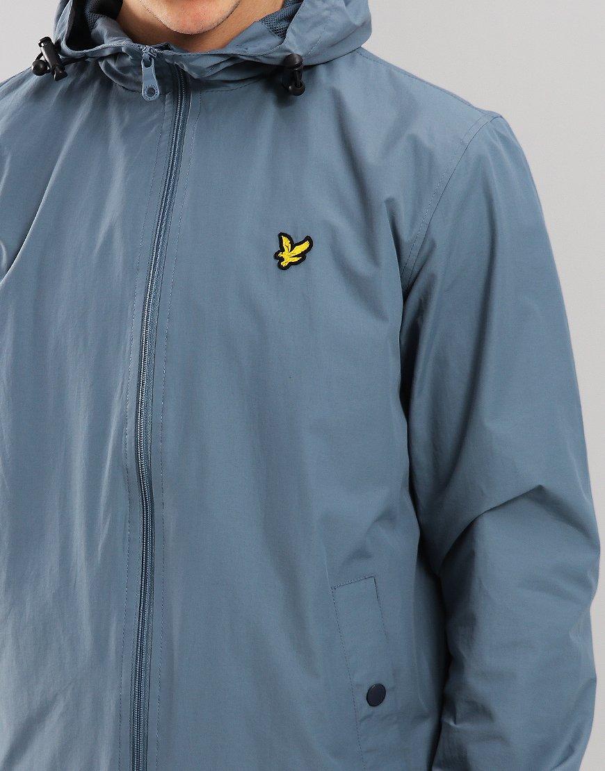 Lyle & Scott Hooded Jacket Mist Blue