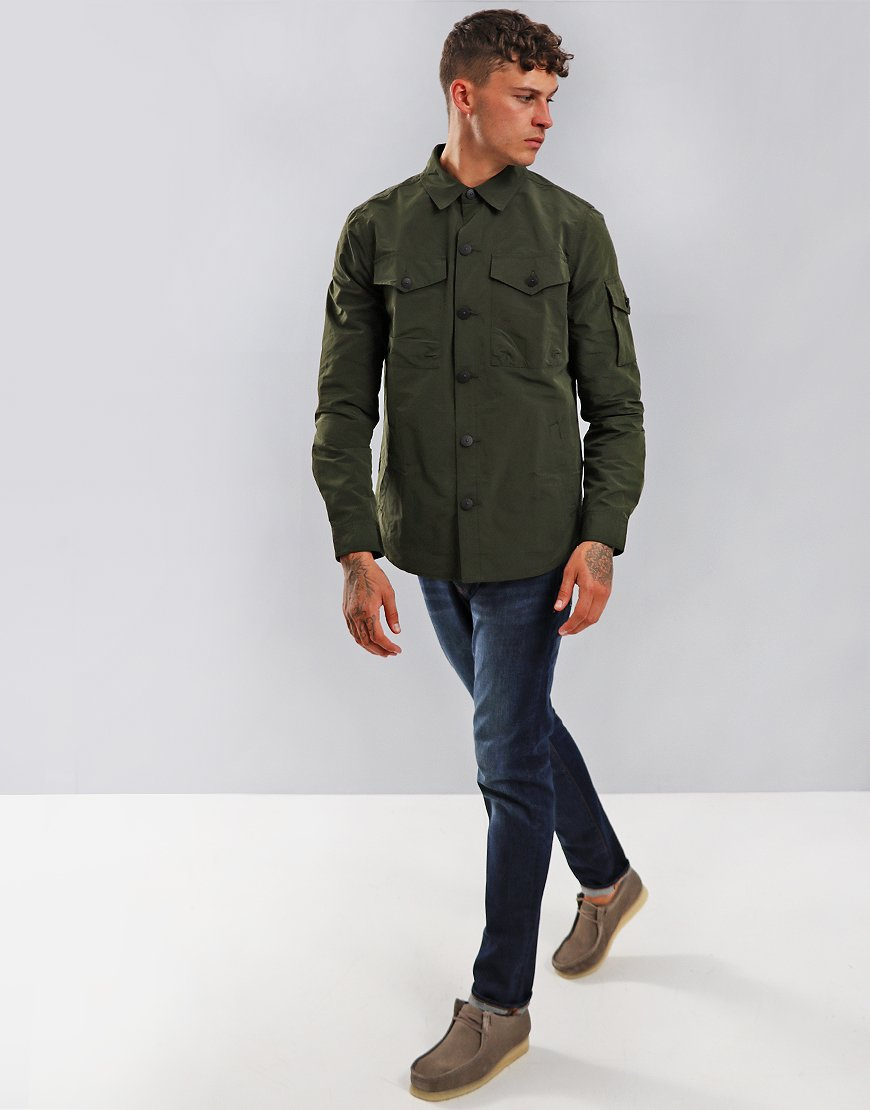Barbour Beacon Askern Overshirt Forest