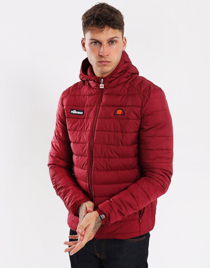 Ellesse Lombardy Puffer Jacket Tibetan Red