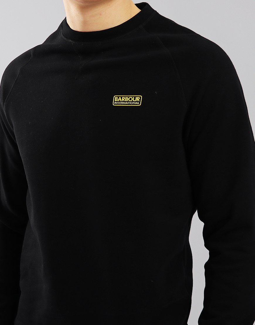 Barbour International Essential Crew Sweat Black