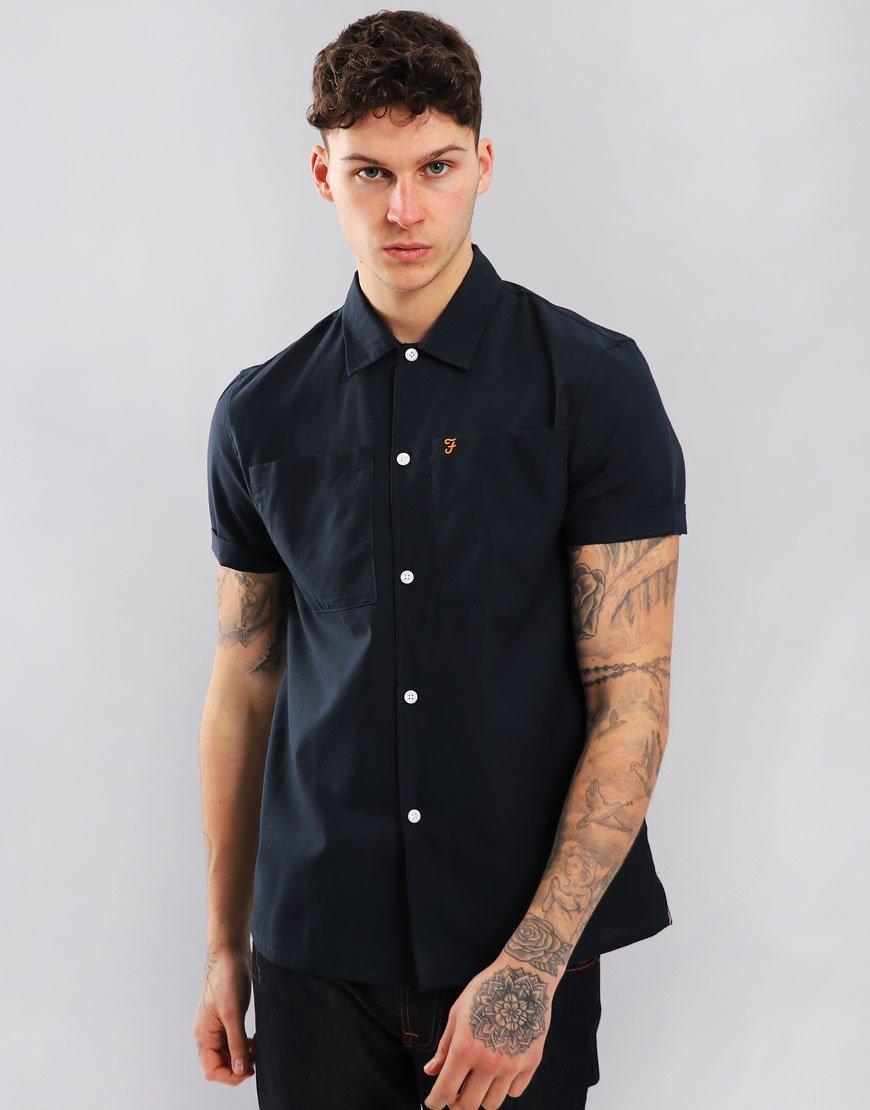Farah Dewey Shirt Navy