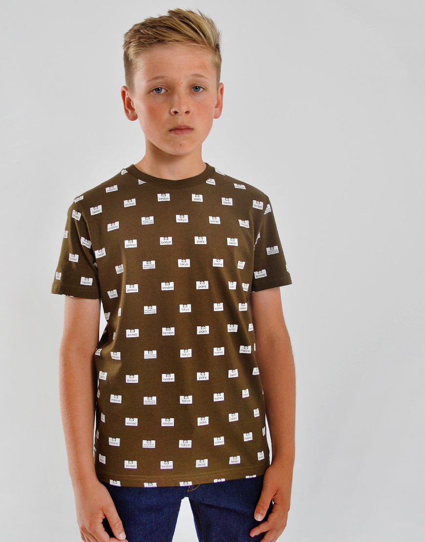 Weekend Offender Kids Neighbourhood T-Shirt Uniform