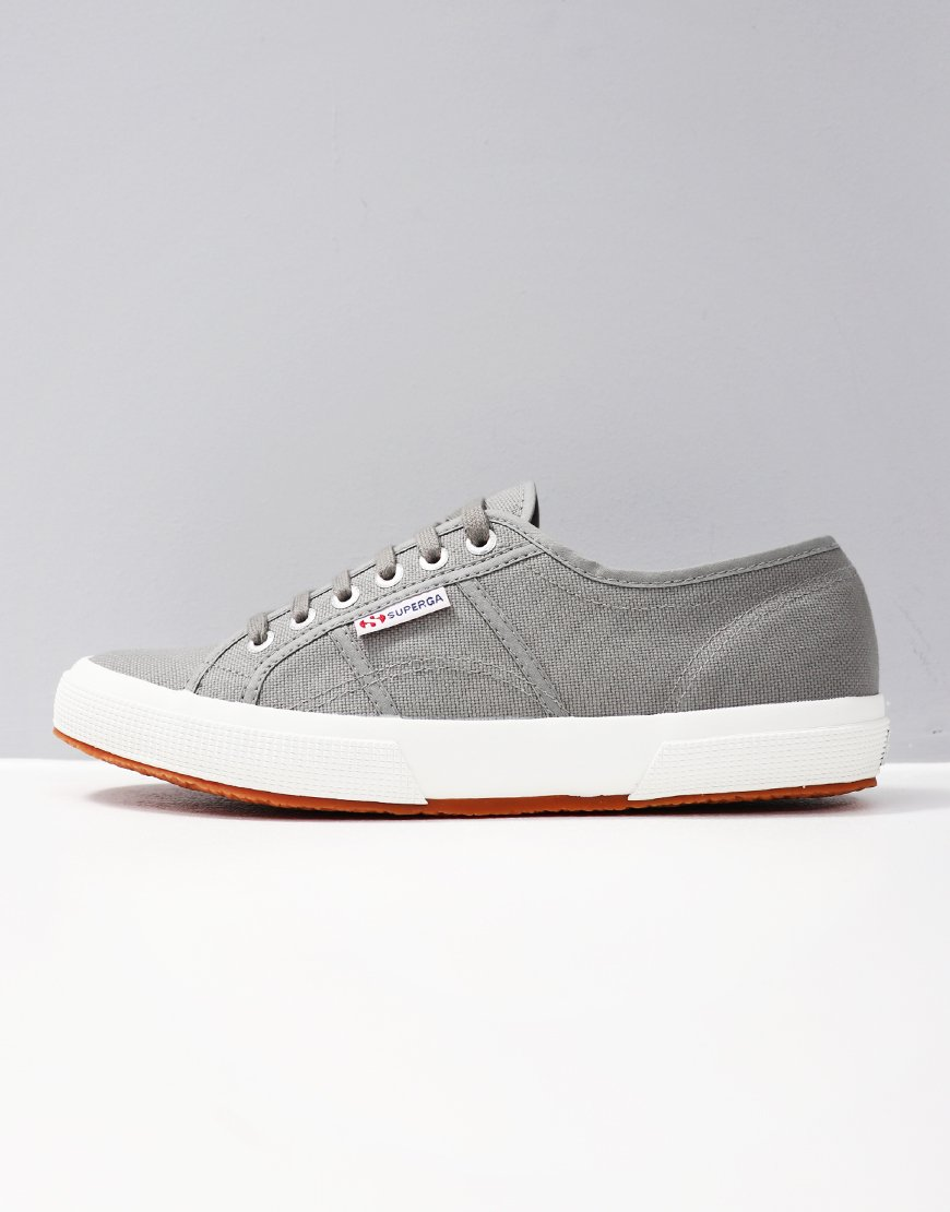 Superga Cotu Classic 2750 Canvas Trainers Dark Sage