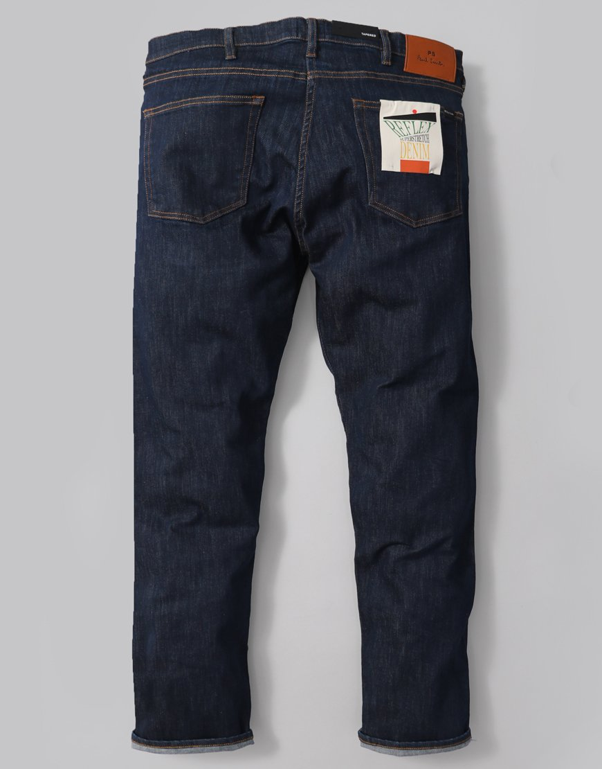 Paul Smith Tapered Fit Jeans Rinse Wash