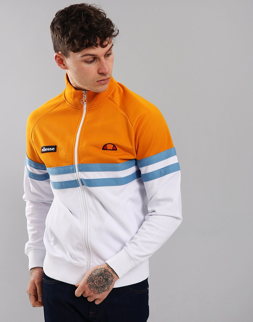 Ellesse Rimini Track Top Optic White