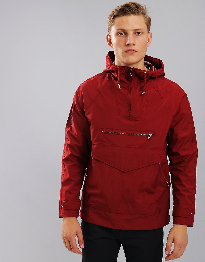 Pretty Green Providence Jacket Burgundy