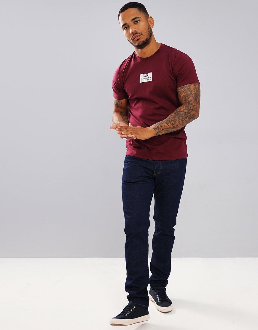 Weekend Offender Frampton T-Shirt Loganberry