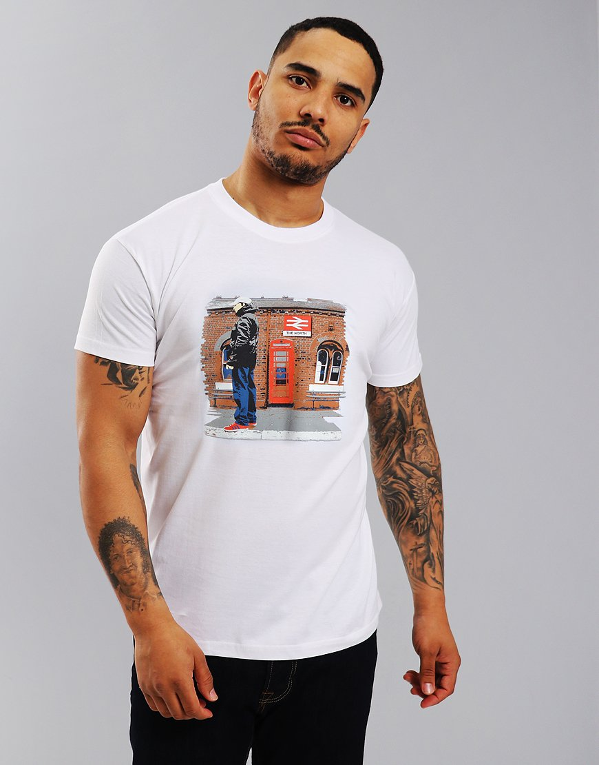 Eighties Casuals North Station T-Shirt White